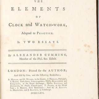 The Elements of Clock and Watch-Work