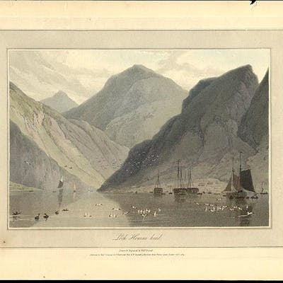 Loch Hourne head DANIELL, William (1769-1837) Topographical Views
