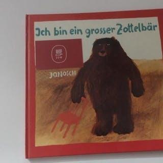 Ich bin ein großer Zottelbär. Janosch. Kinderbücher children books