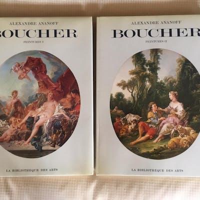 Francois Boucher: Peintures. Volume I & II Alexandre Ananoff, Daniel Wildenstein
