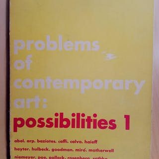 PROBLEMS OF CONTEMPORARY ART - POSSIBILITIES 1 MOTHERWELL