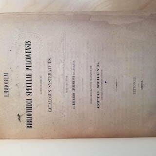LIBRORUM in BiIBLIOTHECA SPECULAE PULCOVENSIS contentorum...