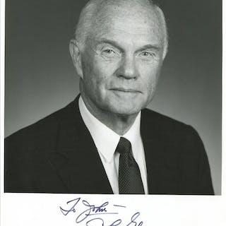 Astronaut and United States Senator John Glenn Signed...