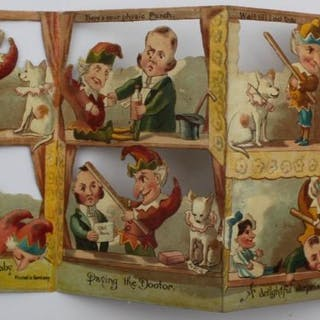 Punch and Judy Panorama. TUCK, Raphael