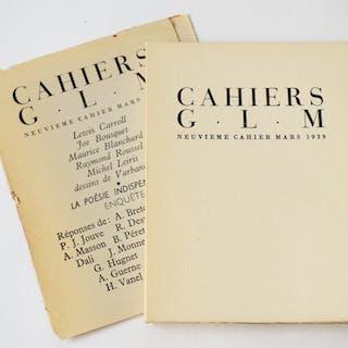 CAHIERS G.L.M. - N°9 mars 1939 Guy Lévis-Mano [Revue]
