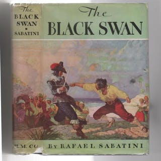 The Black Swan by Rafael Sabatini (First U.S. Edition) Rafael Sabatini Fiction