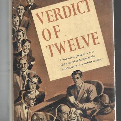 Verdict of Twelve by Raymond Postgate (First Edition) Raymond Postgate Mystery