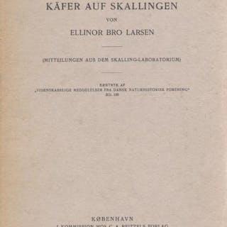 Biologische Studien über die tunnelgrabenden Käfer auf Skallingen Larsen