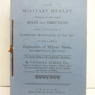 The military medley: Containing the most necessary rules...