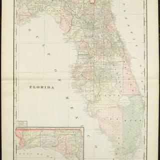 Us 19 Florida Map.Florida Florida U S Southern States Current Sales Barnebys Com