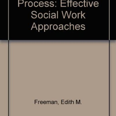 The Addiction Process: Effective Social Work Approaches by Freeman, Edith M.