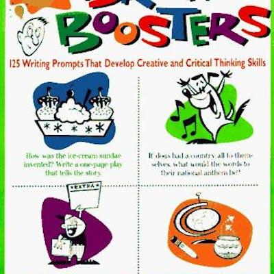 Bob Barlow's Book of Brain Boosters! (Grades 4-8) by Barlow