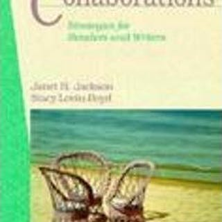 Collaborations: Strategies for Readers and Writers by Jackson, Janet; Lovin-B.