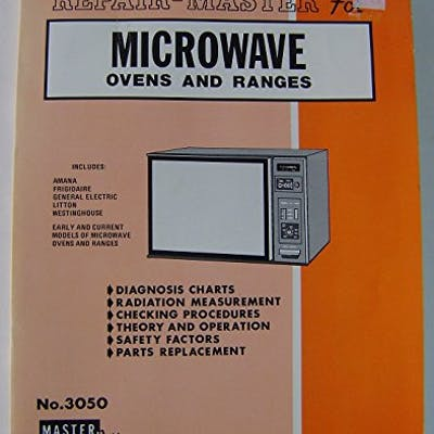 REPAIR-MASTER FOR MICROWAVE OVENS & RANGES (NO. 3050)