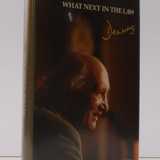 What Next in the Law. SIGNED PRESENTATION COPY Lord DENNING Political Economy