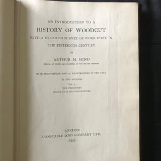 An Introduction to a History of Woodcut with a Detailed...