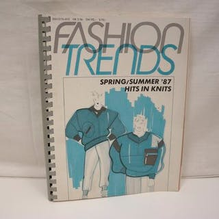 Fashion Trends NR. 2/86. Spring/Summer `86 , Hits in Knits Diverse: Mode