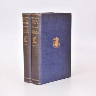 Twenty Five Years 1892-1916 Vols I & II VISCOUNT GREY OF FALLONDON: