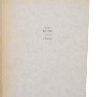 Zero Mostel Reads a Book FRANK, Robert & Zero Mostel Photography