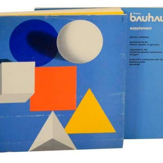 Bauhaus 50 Years   Art and Exhibition Catalogues