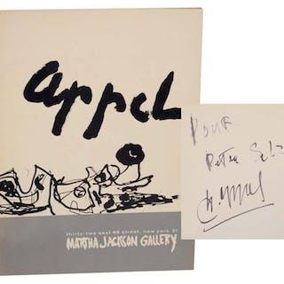 Karel Appel (Signed First Edition) APPEL