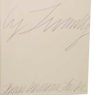 Cy Twombly: 6 Paintings 3 Sculptures TWOMBLY