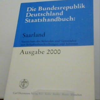 Die Bundesrepublik Deutschland Staatshandbuch
