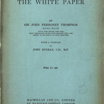 India. The White Paper