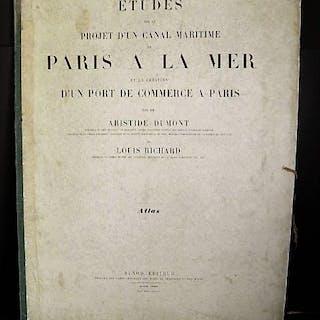 Etudes sur le Projet d'un Canal Maritime de Paris à la...