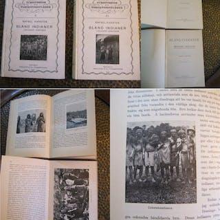 Bland Indianer. I Ekvandors Urskogar. Karsten, Rafael. Ethnologie - Amerika