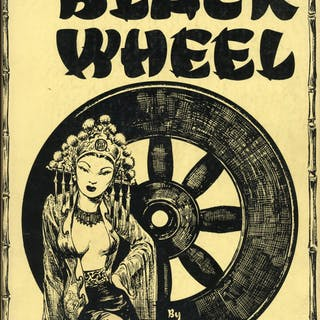 THE BLACK WHEEL completed and illustrated by Hannes Bok Merritt