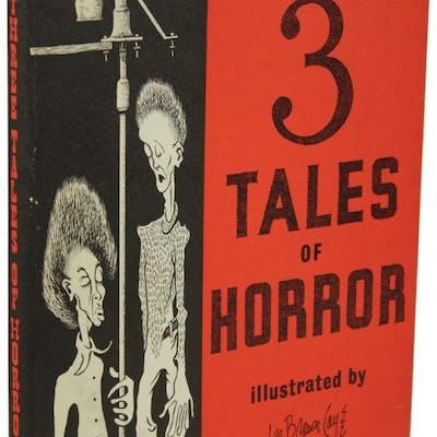 3 TALES OF HORROR Lovecraft, H[oward] P[hillips] Horror