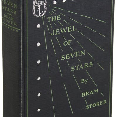 THE JEWEL OF THE SEVEN STARS Stoker, Bram Horror