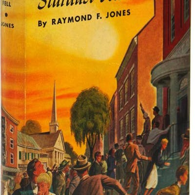 THE YEAR WHEN STARDUST FELL Jones, Raymond F. Science Fiction