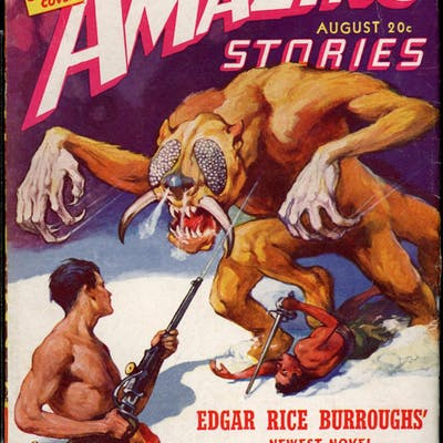 AMAZING STORIES [Burroughs