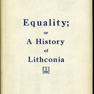 EQUALITY; A HISTORY OF LITHCONIA
