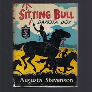 Sitting Bull Dakota Boy Childhood of Famous Americans...