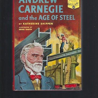 Andrew Carnegie and the Age of Steel #80 Landmark HB/DJ...