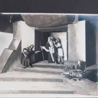 "Photo Album Documenting the Play ""Jeremiah"" (Yermiyahu) by Stefan Zweig"
