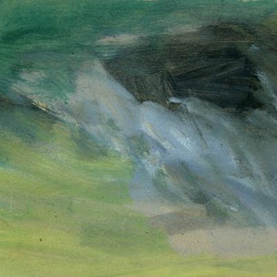 Watercolor (#2) CUMMINGS, E.E. Art by E.E. Cummings,Artwork