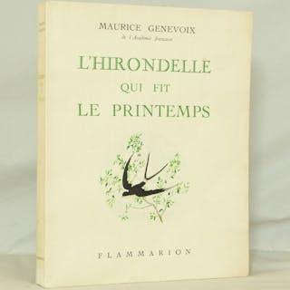 L'hirondelle qui fit le printemps - GENEVOIX (Maurice)