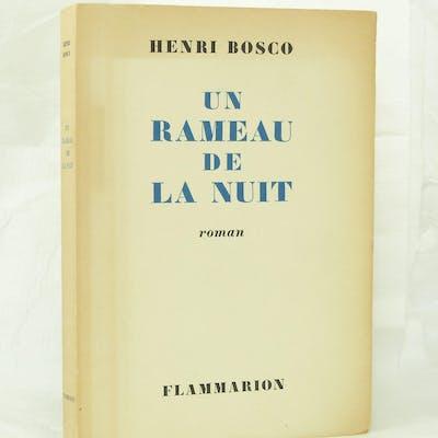 Un rameau de la nuit - BOSCO (Henri)