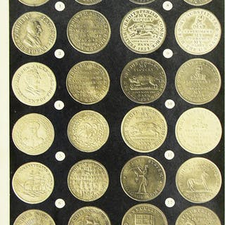 PHOTOGRAPHS OF HARD TIMES TOKENS
