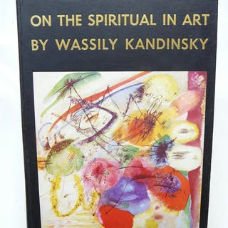 On The Spiritual In Art. First Complete English Translation KANDINSKY, Wassily.