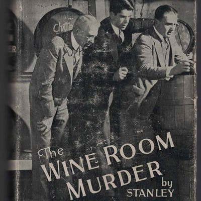 The Wine Room Murder Vestal, Stanley Mystery & Detective Fiction
