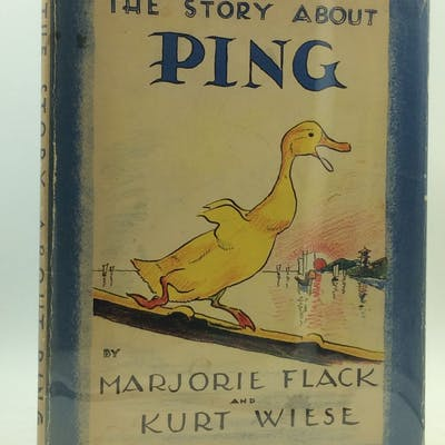 THE STORY ABOUT PING Marjorie Flack Rare & Collectible