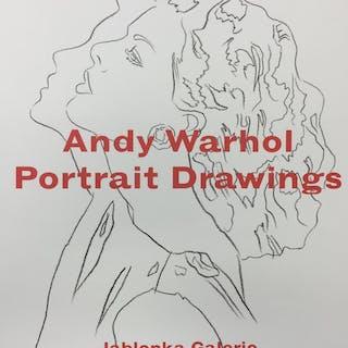 Warhol, Andy. Portrait Drawings.   Kunst monographisch S-Z