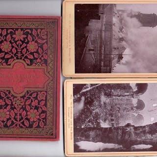 Die Kreuzkirche am 16. Febr. 1897.   Postkarten