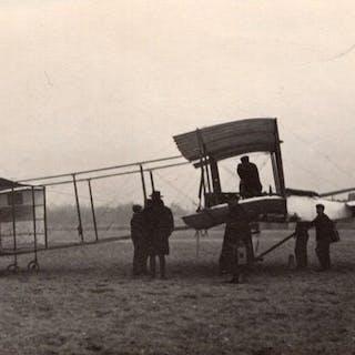 France Aviation Henry Farman No1 Biplane Airplane old...