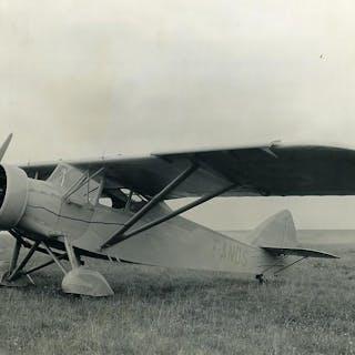 France Potez 6 B.D. 120 CV Aviation F-ANDS Old Photo 1934   Aviation,France
